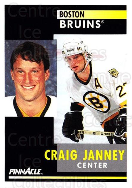 1991-92 Pinnacle #57 Craig Janney<br/>8 In Stock - $1.00 each - <a href=https://centericecollectibles.foxycart.com/cart?name=1991-92%20Pinnacle%20%2357%20Craig%20Janney...&quantity_max=8&price=$1.00&code=245351 class=foxycart> Buy it now! </a>