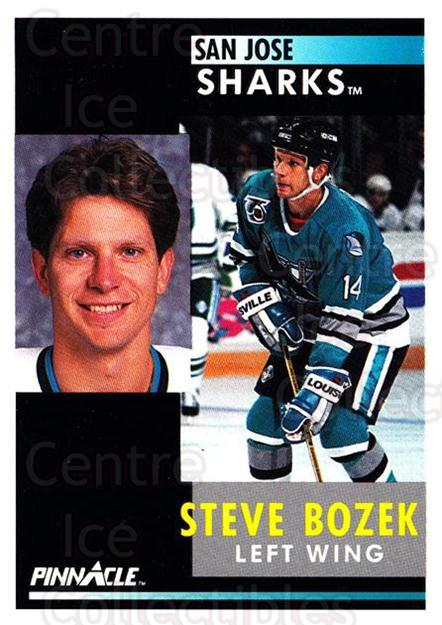 1991-92 Pinnacle #61 Steve Bozek<br/>7 In Stock - $1.00 each - <a href=https://centericecollectibles.foxycart.com/cart?name=1991-92%20Pinnacle%20%2361%20Steve%20Bozek...&quantity_max=7&price=$1.00&code=245355 class=foxycart> Buy it now! </a>
