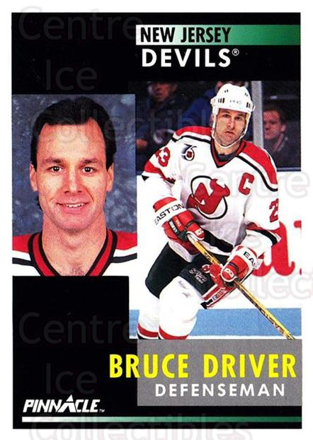 1991-92 Pinnacle #63 Bruce Driver<br/>7 In Stock - $1.00 each - <a href=https://centericecollectibles.foxycart.com/cart?name=1991-92%20Pinnacle%20%2363%20Bruce%20Driver...&quantity_max=7&price=$1.00&code=245357 class=foxycart> Buy it now! </a>