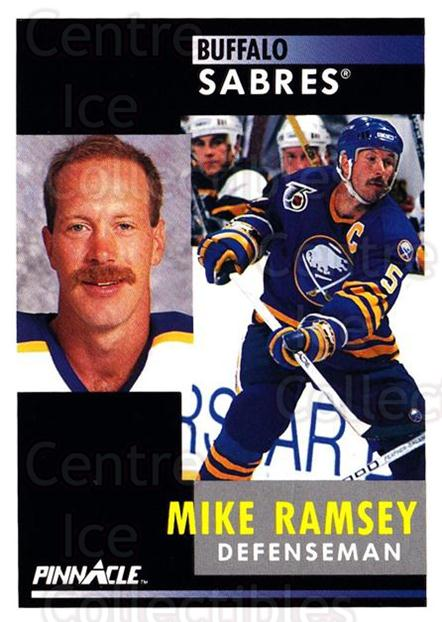 1991-92 Pinnacle #64 Mike Ramsey<br/>8 In Stock - $1.00 each - <a href=https://centericecollectibles.foxycart.com/cart?name=1991-92%20Pinnacle%20%2364%20Mike%20Ramsey...&quantity_max=8&price=$1.00&code=245358 class=foxycart> Buy it now! </a>