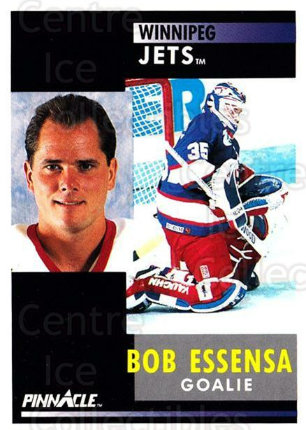 1991-92 Pinnacle #66 Bob Essensa<br/>6 In Stock - $1.00 each - <a href=https://centericecollectibles.foxycart.com/cart?name=1991-92%20Pinnacle%20%2366%20Bob%20Essensa...&quantity_max=6&price=$1.00&code=245360 class=foxycart> Buy it now! </a>