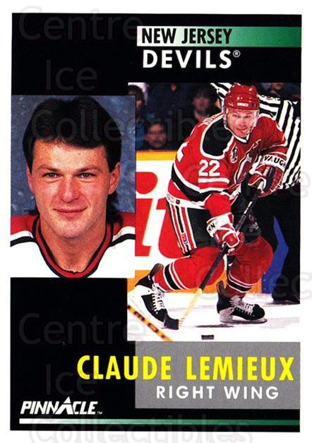 1991-92 Pinnacle #70 Claude Lemieux<br/>7 In Stock - $1.00 each - <a href=https://centericecollectibles.foxycart.com/cart?name=1991-92%20Pinnacle%20%2370%20Claude%20Lemieux...&quantity_max=7&price=$1.00&code=245364 class=foxycart> Buy it now! </a>