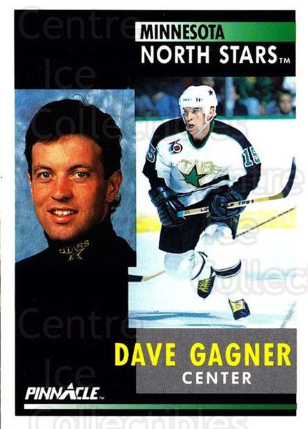 1991-92 Pinnacle #71 Dave Gagner<br/>8 In Stock - $1.00 each - <a href=https://centericecollectibles.foxycart.com/cart?name=1991-92%20Pinnacle%20%2371%20Dave%20Gagner...&quantity_max=8&price=$1.00&code=245365 class=foxycart> Buy it now! </a>
