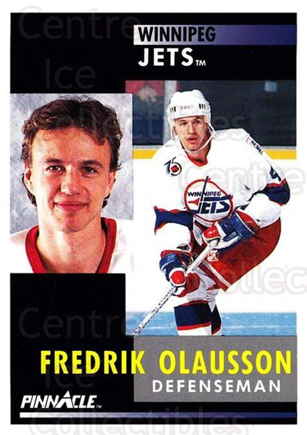 1991-92 Pinnacle #74 Fredrik Olausson<br/>8 In Stock - $1.00 each - <a href=https://centericecollectibles.foxycart.com/cart?name=1991-92%20Pinnacle%20%2374%20Fredrik%20Olausso...&quantity_max=8&price=$1.00&code=245368 class=foxycart> Buy it now! </a>