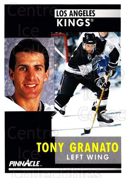 1991-92 Pinnacle #76 Tony Granato<br/>8 In Stock - $1.00 each - <a href=https://centericecollectibles.foxycart.com/cart?name=1991-92%20Pinnacle%20%2376%20Tony%20Granato...&quantity_max=8&price=$1.00&code=245370 class=foxycart> Buy it now! </a>