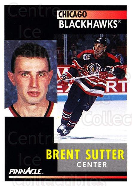 1991-92 Pinnacle #79 Brent Sutter<br/>8 In Stock - $1.00 each - <a href=https://centericecollectibles.foxycart.com/cart?name=1991-92%20Pinnacle%20%2379%20Brent%20Sutter...&quantity_max=8&price=$1.00&code=245373 class=foxycart> Buy it now! </a>