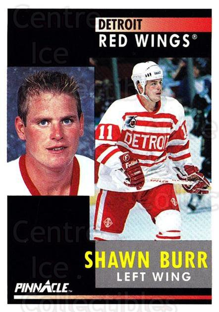 1991-92 Pinnacle #86 Shawn Burr<br/>8 In Stock - $1.00 each - <a href=https://centericecollectibles.foxycart.com/cart?name=1991-92%20Pinnacle%20%2386%20Shawn%20Burr...&quantity_max=8&price=$1.00&code=245380 class=foxycart> Buy it now! </a>