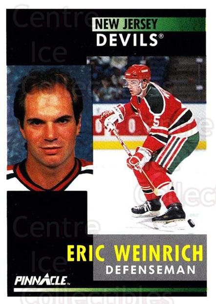 1991-92 Pinnacle #89 Eric Weinrich<br/>8 In Stock - $1.00 each - <a href=https://centericecollectibles.foxycart.com/cart?name=1991-92%20Pinnacle%20%2389%20Eric%20Weinrich...&quantity_max=8&price=$1.00&code=245383 class=foxycart> Buy it now! </a>