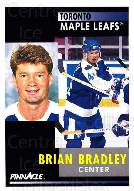 1991-92 Pinnacle #90 Brian Bradley<br/>8 In Stock - $1.00 each - <a href=https://centericecollectibles.foxycart.com/cart?name=1991-92%20Pinnacle%20%2390%20Brian%20Bradley...&quantity_max=8&price=$1.00&code=245384 class=foxycart> Buy it now! </a>