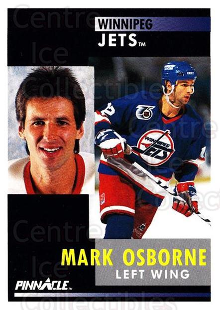 1991-92 Pinnacle #96 Mark Osborne<br/>8 In Stock - $1.00 each - <a href=https://centericecollectibles.foxycart.com/cart?name=1991-92%20Pinnacle%20%2396%20Mark%20Osborne...&quantity_max=8&price=$1.00&code=245390 class=foxycart> Buy it now! </a>