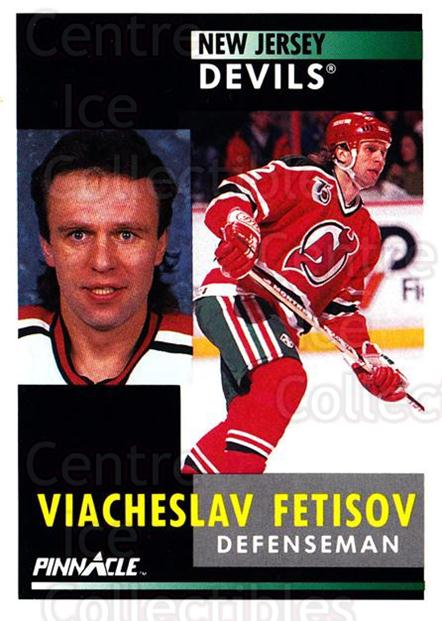 1991-92 Pinnacle #101 Vyacheslav Fetisov<br/>4 In Stock - $1.00 each - <a href=https://centericecollectibles.foxycart.com/cart?name=1991-92%20Pinnacle%20%23101%20Vyacheslav%20Feti...&quantity_max=4&price=$1.00&code=245395 class=foxycart> Buy it now! </a>