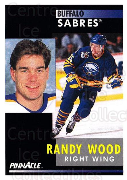 1991-92 Pinnacle #104 Randy Wood<br/>8 In Stock - $1.00 each - <a href=https://centericecollectibles.foxycart.com/cart?name=1991-92%20Pinnacle%20%23104%20Randy%20Wood...&quantity_max=8&price=$1.00&code=245398 class=foxycart> Buy it now! </a>