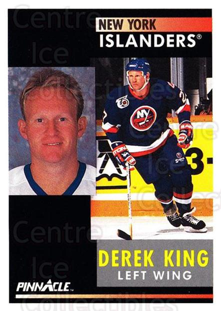 1991-92 Pinnacle #107 Derek King<br/>8 In Stock - $1.00 each - <a href=https://centericecollectibles.foxycart.com/cart?name=1991-92%20Pinnacle%20%23107%20Derek%20King...&quantity_max=8&price=$1.00&code=245401 class=foxycart> Buy it now! </a>