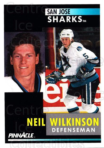 1991-92 Pinnacle #108 Neil Wilkinson<br/>7 In Stock - $1.00 each - <a href=https://centericecollectibles.foxycart.com/cart?name=1991-92%20Pinnacle%20%23108%20Neil%20Wilkinson...&quantity_max=7&price=$1.00&code=245402 class=foxycart> Buy it now! </a>