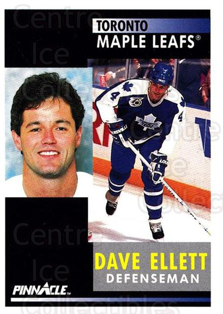1991-92 Pinnacle #111 Dave Ellett<br/>8 In Stock - $1.00 each - <a href=https://centericecollectibles.foxycart.com/cart?name=1991-92%20Pinnacle%20%23111%20Dave%20Ellett...&quantity_max=8&price=$1.00&code=245405 class=foxycart> Buy it now! </a>