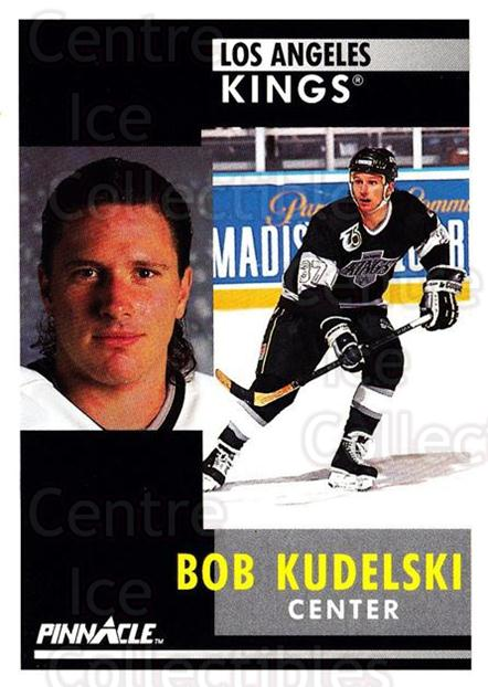 1991-92 Pinnacle #113 Bob Kudelski<br/>8 In Stock - $1.00 each - <a href=https://centericecollectibles.foxycart.com/cart?name=1991-92%20Pinnacle%20%23113%20Bob%20Kudelski...&quantity_max=8&price=$1.00&code=245407 class=foxycart> Buy it now! </a>