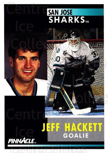 1991-92 Pinnacle #119 Jeff Hackett<br/>6 In Stock - $1.00 each - <a href=https://centericecollectibles.foxycart.com/cart?name=1991-92%20Pinnacle%20%23119%20Jeff%20Hackett...&quantity_max=6&price=$1.00&code=245413 class=foxycart> Buy it now! </a>