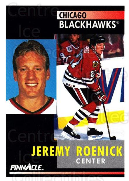 1991-92 Pinnacle #120 Jeremy Roenick<br/>8 In Stock - $1.00 each - <a href=https://centericecollectibles.foxycart.com/cart?name=1991-92%20Pinnacle%20%23120%20Jeremy%20Roenick...&quantity_max=8&price=$1.00&code=245414 class=foxycart> Buy it now! </a>
