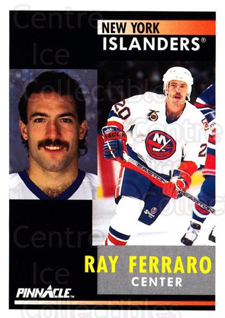 1991-92 Pinnacle #123 Ray Ferraro<br/>8 In Stock - $1.00 each - <a href=https://centericecollectibles.foxycart.com/cart?name=1991-92%20Pinnacle%20%23123%20Ray%20Ferraro...&quantity_max=8&price=$1.00&code=245417 class=foxycart> Buy it now! </a>