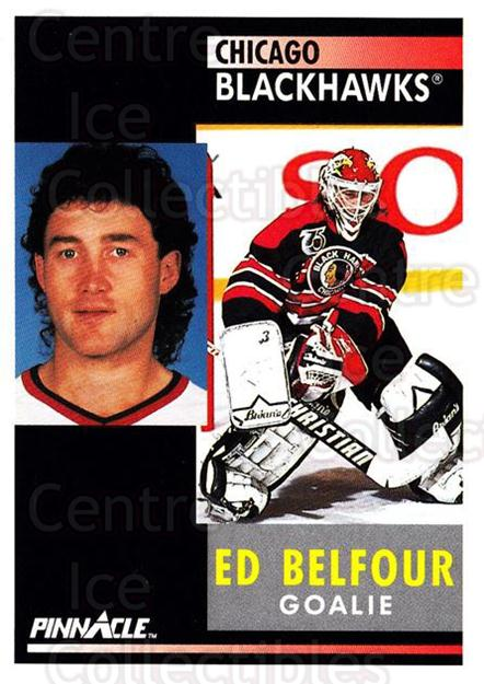 1991-92 Pinnacle #127 Ed Belfour<br/>7 In Stock - $1.00 each - <a href=https://centericecollectibles.foxycart.com/cart?name=1991-92%20Pinnacle%20%23127%20Ed%20Belfour...&quantity_max=7&price=$1.00&code=245421 class=foxycart> Buy it now! </a>