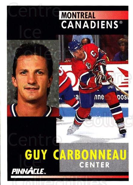 1991-92 Pinnacle #130 Guy Carbonneau<br/>8 In Stock - $1.00 each - <a href=https://centericecollectibles.foxycart.com/cart?name=1991-92%20Pinnacle%20%23130%20Guy%20Carbonneau...&quantity_max=8&price=$1.00&code=245424 class=foxycart> Buy it now! </a>