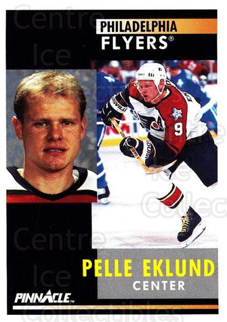 1991-92 Pinnacle #134 Pelle Eklund<br/>8 In Stock - $1.00 each - <a href=https://centericecollectibles.foxycart.com/cart?name=1991-92%20Pinnacle%20%23134%20Pelle%20Eklund...&quantity_max=8&price=$1.00&code=245428 class=foxycart> Buy it now! </a>