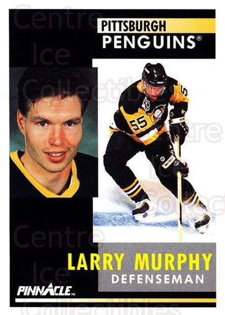 1991-92 Pinnacle #143 Larry Murphy<br/>8 In Stock - $1.00 each - <a href=https://centericecollectibles.foxycart.com/cart?name=1991-92%20Pinnacle%20%23143%20Larry%20Murphy...&quantity_max=8&price=$1.00&code=245437 class=foxycart> Buy it now! </a>