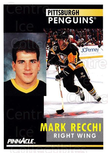 1991-92 Pinnacle #151 Mark Recchi<br/>8 In Stock - $1.00 each - <a href=https://centericecollectibles.foxycart.com/cart?name=1991-92%20Pinnacle%20%23151%20Mark%20Recchi...&quantity_max=8&price=$1.00&code=245445 class=foxycart> Buy it now! </a>