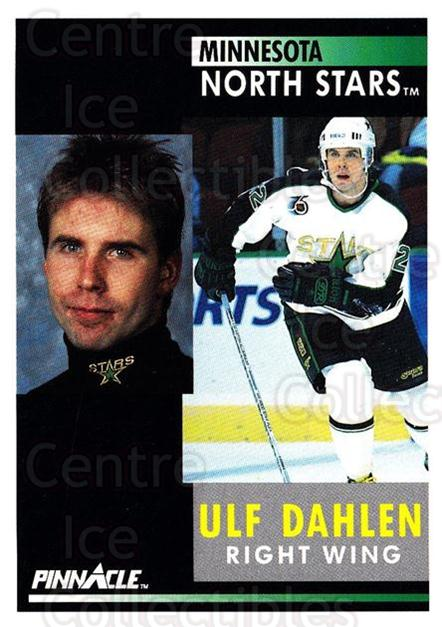1991-92 Pinnacle #152 Ulf Dahlen<br/>7 In Stock - $1.00 each - <a href=https://centericecollectibles.foxycart.com/cart?name=1991-92%20Pinnacle%20%23152%20Ulf%20Dahlen...&quantity_max=7&price=$1.00&code=245446 class=foxycart> Buy it now! </a>