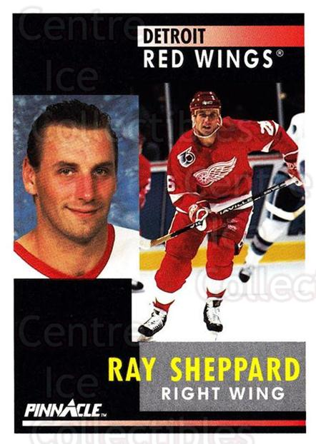 1991-92 Pinnacle #155 Ray Sheppard<br/>8 In Stock - $1.00 each - <a href=https://centericecollectibles.foxycart.com/cart?name=1991-92%20Pinnacle%20%23155%20Ray%20Sheppard...&quantity_max=8&price=$1.00&code=245449 class=foxycart> Buy it now! </a>