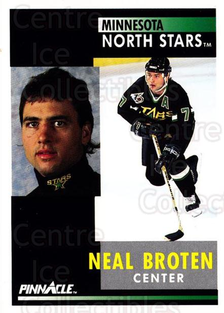 1991-92 Pinnacle #161 Neal Broten<br/>7 In Stock - $1.00 each - <a href=https://centericecollectibles.foxycart.com/cart?name=1991-92%20Pinnacle%20%23161%20Neal%20Broten...&quantity_max=7&price=$1.00&code=245455 class=foxycart> Buy it now! </a>
