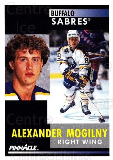 1991-92 Pinnacle #163 Alexander Mogilny<br/>5 In Stock - $1.00 each - <a href=https://centericecollectibles.foxycart.com/cart?name=1991-92%20Pinnacle%20%23163%20Alexander%20Mogil...&quantity_max=5&price=$1.00&code=245457 class=foxycart> Buy it now! </a>