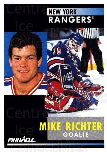 1991-92 Pinnacle #164 Mike Richter<br/>8 In Stock - $1.00 each - <a href=https://centericecollectibles.foxycart.com/cart?name=1991-92%20Pinnacle%20%23164%20Mike%20Richter...&quantity_max=8&price=$1.00&code=245458 class=foxycart> Buy it now! </a>