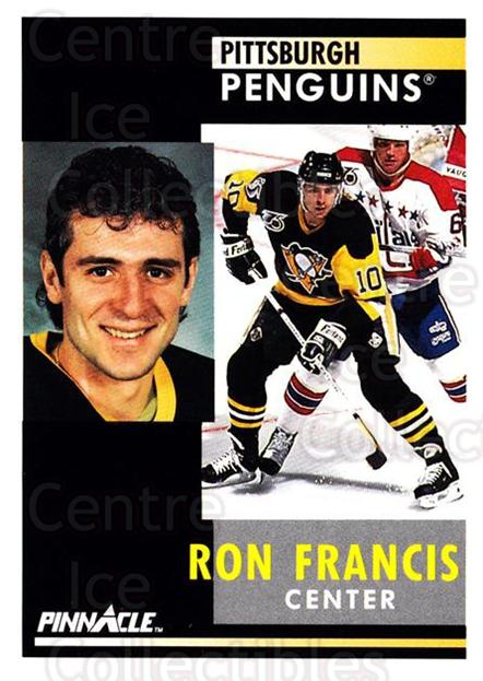 1991-92 Pinnacle #167 Ron Francis<br/>8 In Stock - $1.00 each - <a href=https://centericecollectibles.foxycart.com/cart?name=1991-92%20Pinnacle%20%23167%20Ron%20Francis...&quantity_max=8&price=$1.00&code=245461 class=foxycart> Buy it now! </a>
