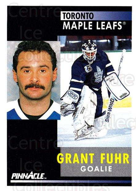 1991-92 Pinnacle #168 Grant Fuhr<br/>4 In Stock - $1.00 each - <a href=https://centericecollectibles.foxycart.com/cart?name=1991-92%20Pinnacle%20%23168%20Grant%20Fuhr...&quantity_max=4&price=$1.00&code=245462 class=foxycart> Buy it now! </a>