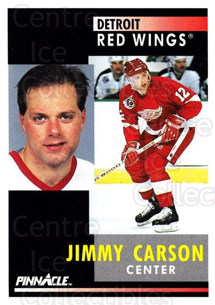 1991-92 Pinnacle #173 Jimmy Carson<br/>8 In Stock - $1.00 each - <a href=https://centericecollectibles.foxycart.com/cart?name=1991-92%20Pinnacle%20%23173%20Jimmy%20Carson...&quantity_max=8&price=$1.00&code=245467 class=foxycart> Buy it now! </a>