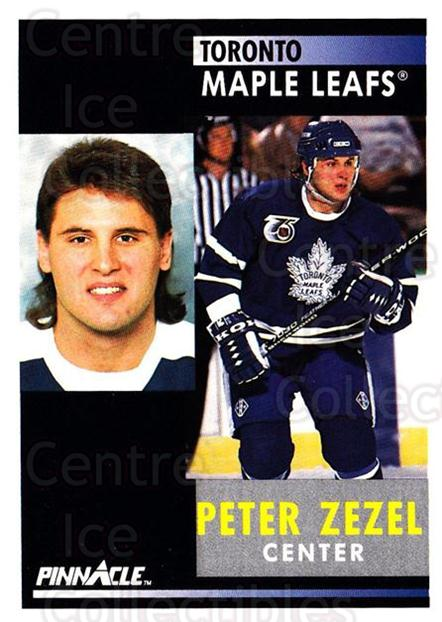 1991-92 Pinnacle #174 Peter Zezel<br/>7 In Stock - $1.00 each - <a href=https://centericecollectibles.foxycart.com/cart?name=1991-92%20Pinnacle%20%23174%20Peter%20Zezel...&quantity_max=7&price=$1.00&code=245468 class=foxycart> Buy it now! </a>