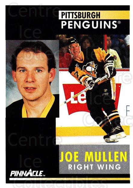 1991-92 Pinnacle #176 Joe Mullen<br/>8 In Stock - $1.00 each - <a href=https://centericecollectibles.foxycart.com/cart?name=1991-92%20Pinnacle%20%23176%20Joe%20Mullen...&quantity_max=8&price=$1.00&code=245470 class=foxycart> Buy it now! </a>