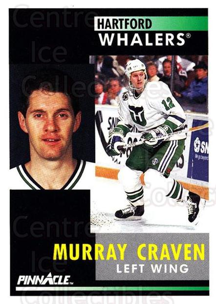 1991-92 Pinnacle #177 Murray Craven<br/>7 In Stock - $1.00 each - <a href=https://centericecollectibles.foxycart.com/cart?name=1991-92%20Pinnacle%20%23177%20Murray%20Craven...&quantity_max=7&price=$1.00&code=245471 class=foxycart> Buy it now! </a>