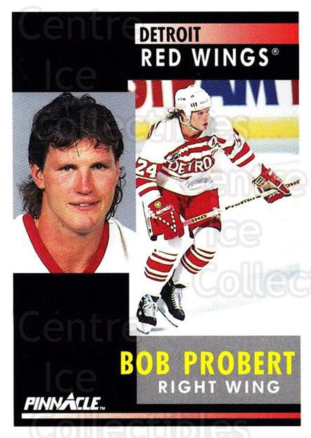 1991-92 Pinnacle #183 Bob Probert<br/>8 In Stock - $1.00 each - <a href=https://centericecollectibles.foxycart.com/cart?name=1991-92%20Pinnacle%20%23183%20Bob%20Probert...&quantity_max=8&price=$1.00&code=245477 class=foxycart> Buy it now! </a>