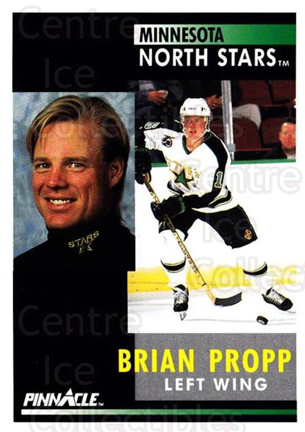 1991-92 Pinnacle #184 Brian Propp<br/>8 In Stock - $1.00 each - <a href=https://centericecollectibles.foxycart.com/cart?name=1991-92%20Pinnacle%20%23184%20Brian%20Propp...&quantity_max=8&price=$1.00&code=245478 class=foxycart> Buy it now! </a>