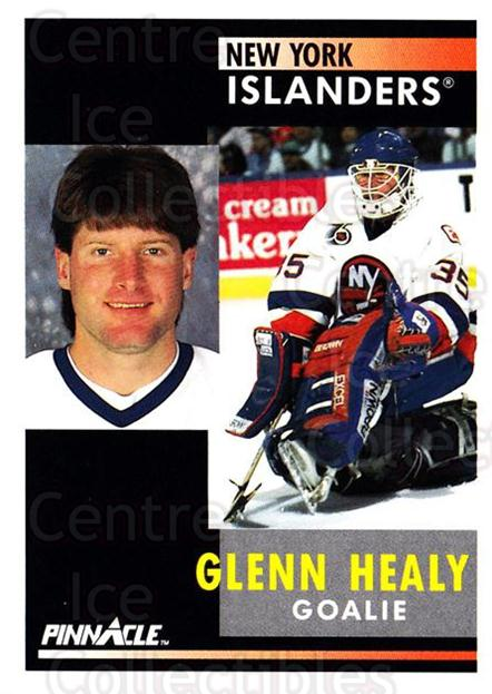 1991-92 Pinnacle #185 Glenn Healy<br/>7 In Stock - $1.00 each - <a href=https://centericecollectibles.foxycart.com/cart?name=1991-92%20Pinnacle%20%23185%20Glenn%20Healy...&quantity_max=7&price=$1.00&code=245479 class=foxycart> Buy it now! </a>