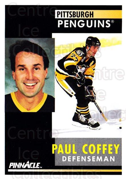 1991-92 Pinnacle #186 Paul Coffey<br/>7 In Stock - $1.00 each - <a href=https://centericecollectibles.foxycart.com/cart?name=1991-92%20Pinnacle%20%23186%20Paul%20Coffey...&quantity_max=7&price=$1.00&code=245480 class=foxycart> Buy it now! </a>