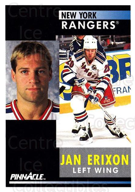 1991-92 Pinnacle #187 Jan Erixon<br/>7 In Stock - $1.00 each - <a href=https://centericecollectibles.foxycart.com/cart?name=1991-92%20Pinnacle%20%23187%20Jan%20Erixon...&quantity_max=7&price=$1.00&code=245481 class=foxycart> Buy it now! </a>