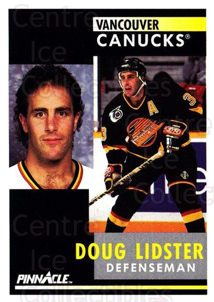 1991-92 Pinnacle #189 Doug Lidster<br/>8 In Stock - $1.00 each - <a href=https://centericecollectibles.foxycart.com/cart?name=1991-92%20Pinnacle%20%23189%20Doug%20Lidster...&quantity_max=8&price=$1.00&code=245483 class=foxycart> Buy it now! </a>