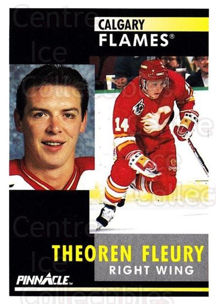 1991-92 Pinnacle #190 Theo Fleury<br/>8 In Stock - $1.00 each - <a href=https://centericecollectibles.foxycart.com/cart?name=1991-92%20Pinnacle%20%23190%20Theo%20Fleury...&quantity_max=8&price=$1.00&code=245484 class=foxycart> Buy it now! </a>