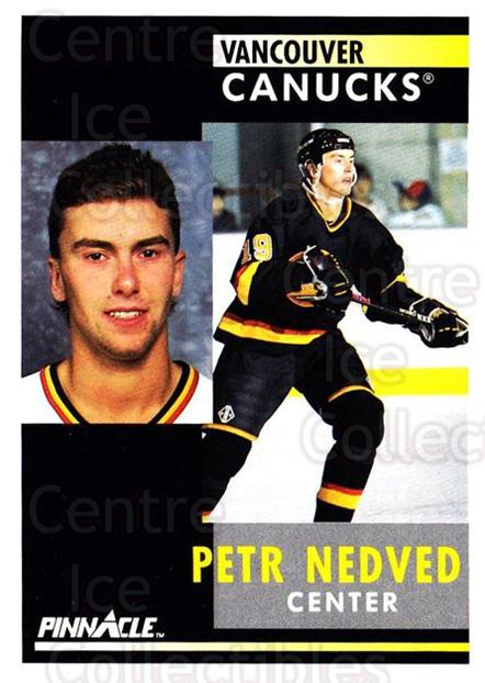 1991-92 Pinnacle #192 Petr Nedved<br/>8 In Stock - $1.00 each - <a href=https://centericecollectibles.foxycart.com/cart?name=1991-92%20Pinnacle%20%23192%20Petr%20Nedved...&quantity_max=8&price=$1.00&code=245486 class=foxycart> Buy it now! </a>