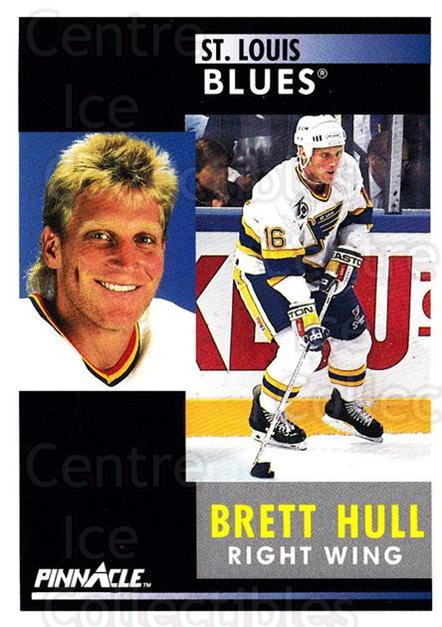 1991-92 Pinnacle #200 Brett Hull<br/>8 In Stock - $1.00 each - <a href=https://centericecollectibles.foxycart.com/cart?name=1991-92%20Pinnacle%20%23200%20Brett%20Hull...&price=$1.00&code=245494 class=foxycart> Buy it now! </a>