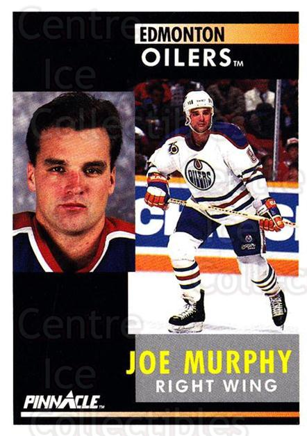 1991-92 Pinnacle #206 Joe Murphy<br/>8 In Stock - $1.00 each - <a href=https://centericecollectibles.foxycart.com/cart?name=1991-92%20Pinnacle%20%23206%20Joe%20Murphy...&quantity_max=8&price=$1.00&code=245500 class=foxycart> Buy it now! </a>