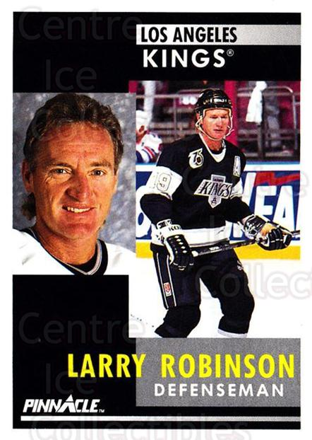 1991-92 Pinnacle #208 Larry Robinson<br/>7 In Stock - $1.00 each - <a href=https://centericecollectibles.foxycart.com/cart?name=1991-92%20Pinnacle%20%23208%20Larry%20Robinson...&quantity_max=7&price=$1.00&code=245502 class=foxycart> Buy it now! </a>